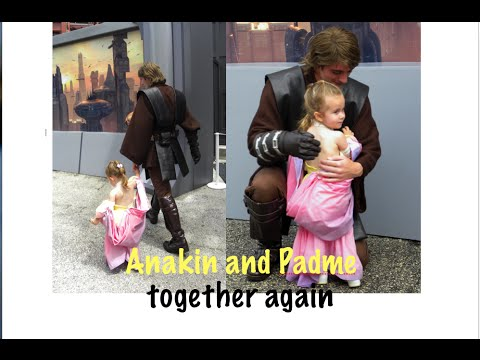 Anakin Skywalker And Padme Together Again Tiny Star Wars