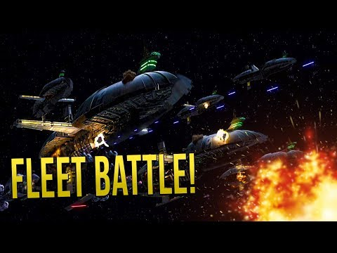 DROID FLEET vs NEW REPUBLIC! - STAR WARS Empire at War [Yoden Mod]