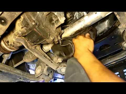 How to change the oil on a 2011 Toyota Hilux
