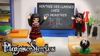 RENTRÉE DES CLASSES CHEZ LES MONSTRES 😈 (Film Playmobil Stop Motion) streaming