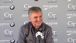Head Coach Paul Johnson Weekly Press Conference (11-13-18 - pre-Virginia)