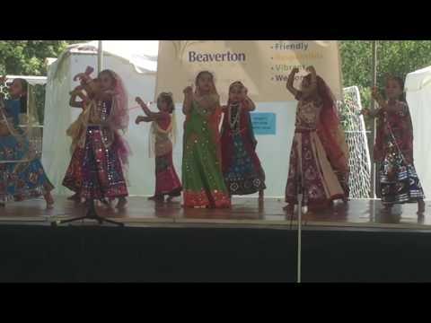 beaverton   Shyam Choodi Bechne Aaya   Rhythm Dance Academy Bangalore Dance (part1)