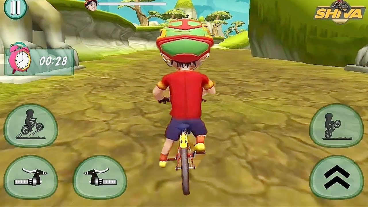 Shiva Bicycle Racing Game || Shiva Games || Shiva New Game || Kids Games || Bike Games
