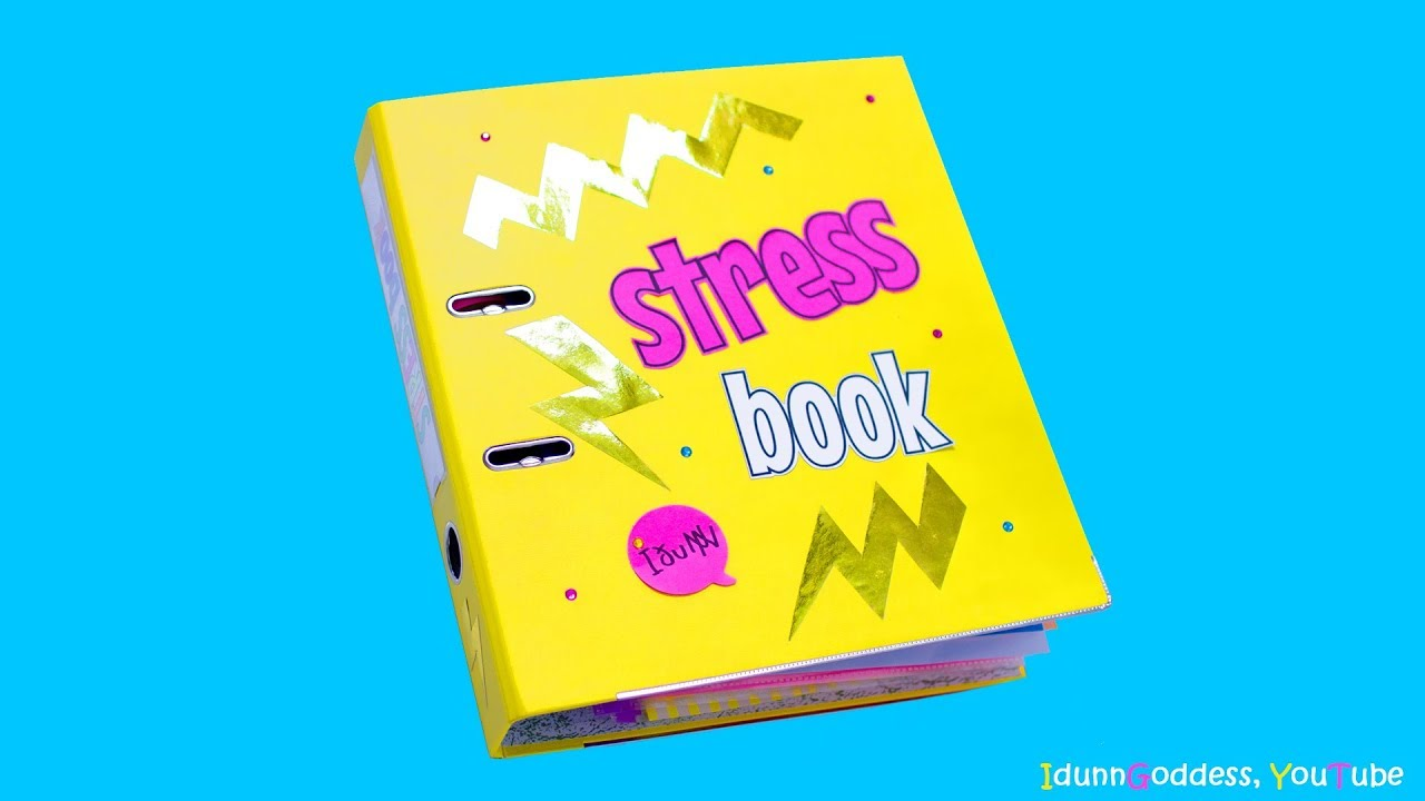 Diy Stress Book With 12 Diy Stress Relievers Inside