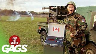 Gags dans l'armée | Compilation de  juste pour rire