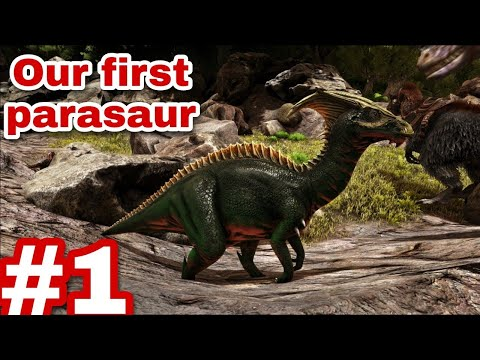 We are playing ARK survival evolved #1