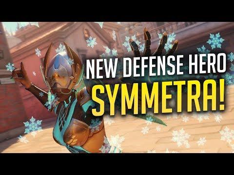 SYMMETRA IS OFFICIALLY BECOMING A DEFENSE HERO!!!