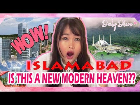 Indonesian girl reaction to Beauty of Islamabad  Pakistan