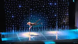 Dimitry Politov showcase - Greek Pole Dance Championship 2016 by Rad Polewear