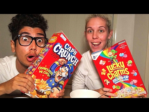 Watch me eat cereal.