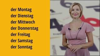 Немецкий язык для начинающих. Дни недели на немецком