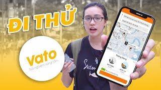Đi thử ứng dụng đặt xe Việt VATO: Đối thủ mới của Grab?