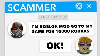 TROLLING ROBLOX SCAMMER #19