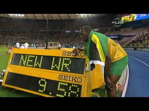 Usain Bolt Beats Gay And Sets New Record From Universal