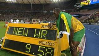 Usain Bolt beats Gay and sets new Record - from Universal Sports