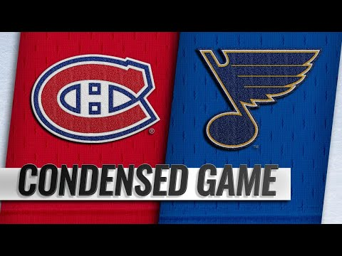 01/10/19 Condensed Game: Canadiens @ Blues