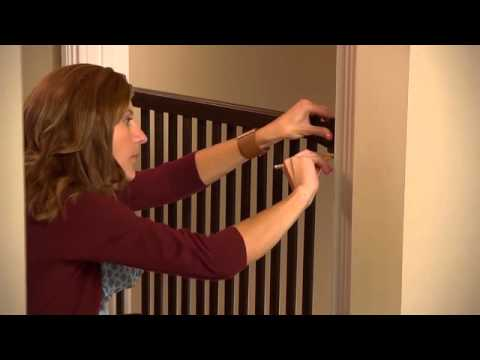 Evenflo Walk-Thru™ Top Of Stairs Baby Gate