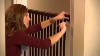 Embrace Series™ Top Of Stairs Walk Thru Gate
