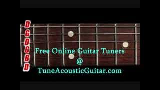 Open G Tuning - Open G Major Online Guitar Tuner