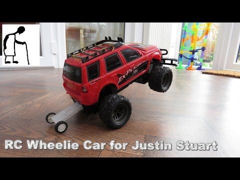 RC Wheelie Car for Justin Stuart