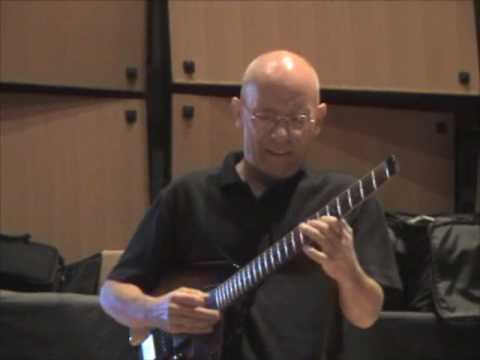 Jody Fisher and Baba Elefante at the National Guitar Workshop 2009