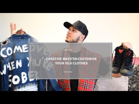 DIY FASHION TIPS | Creative Ways To Customise Your Old Clothes