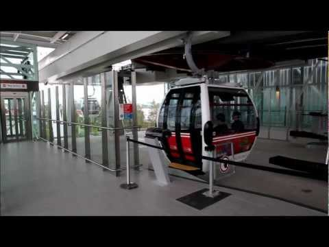 Emirates Royal Docks Cable Car Boarding