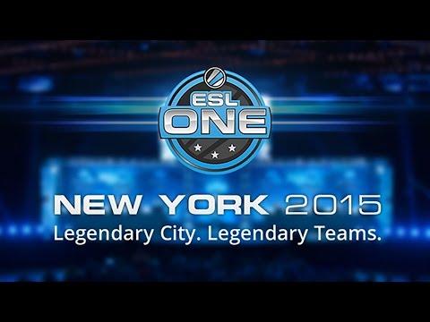Mineski vs Trust ESL One New York 2015 SEA Qualifier Game 2 bo3