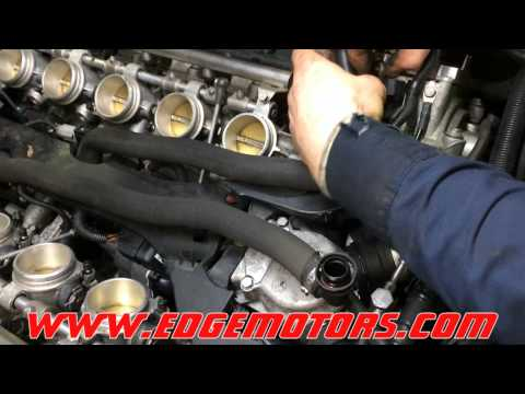e60 m5 throttle body actuator replacement by Edge Motors
