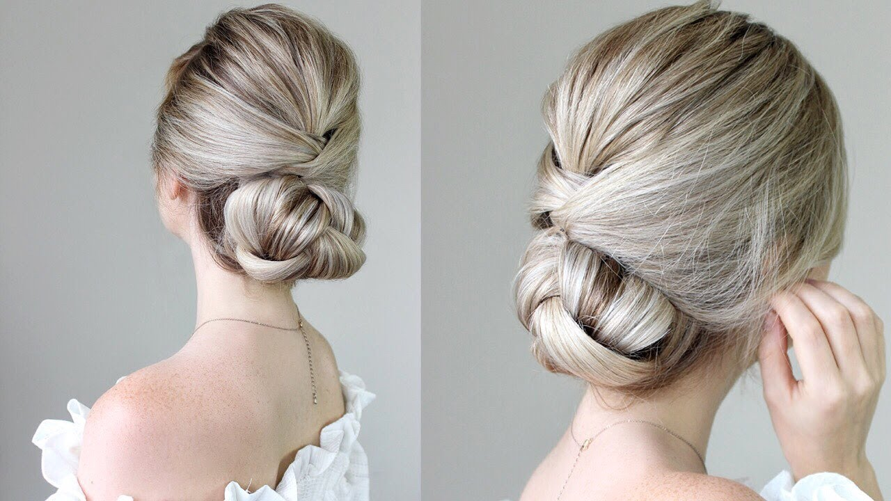 easy up hair styles how to simple updo 3720