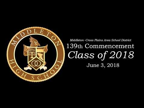 Middleton Cross Plains Area School District Commencement Class Of