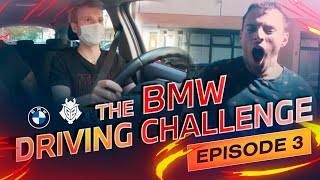G2 BMW Driving School Ep. 3 with Perkz, Jankos, Mikyx \u0026 GrabbZ