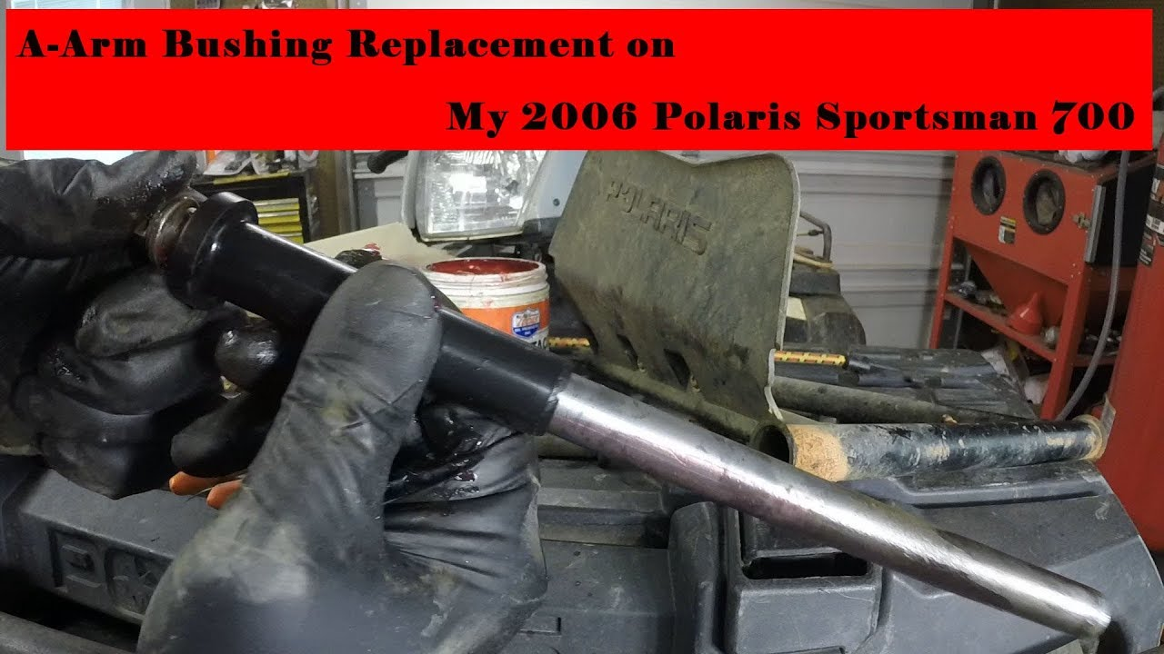 polaris sportsman front a arm bushings replacement  [ 1280 x 720 Pixel ]