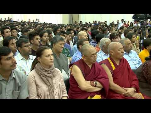 Educating the Mind And Heart ♡ A Public Talk Given by His Holiness The Dalai Lama