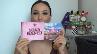 Jeffree Star STAR RANCH Свотчи и макияж Планы на Чёрную пятницу Пару любимых кистей