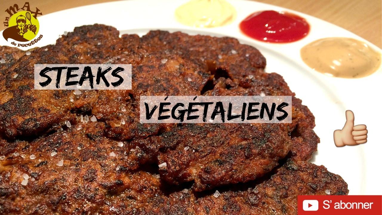 Recette Steak Vegetarien Vegetalien Facile Et Bluffant Recette