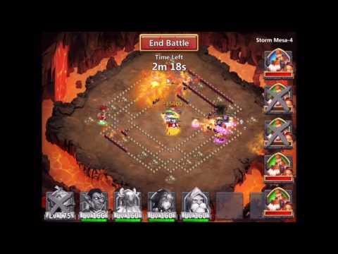 Castle Clash Storm Mesa 4
