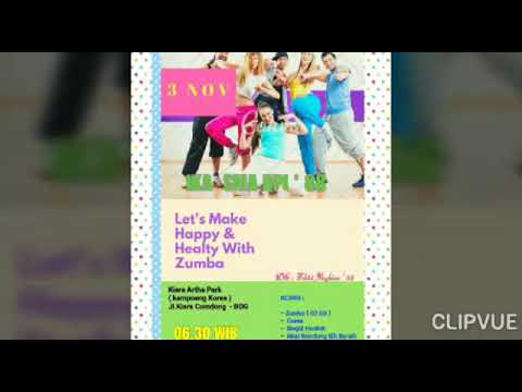 Let's Make Happy & Healty By ZUMBA