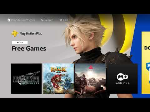 PS Plus Free Games For March 2021 Asia-  Final Fantasy 7 Remake knack 2, Farpont PS4
