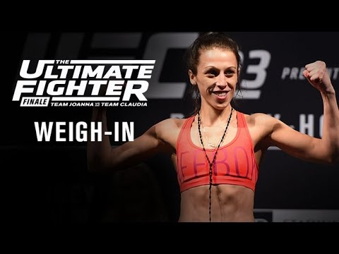 The Ultimate Fighter Finale: Official Weigh-in