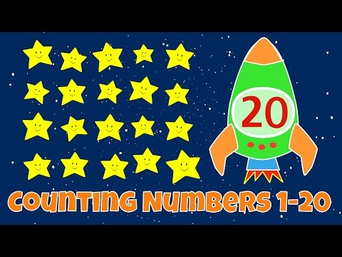 Counting Numbers | Numbers 1-20 Lesson for Children
