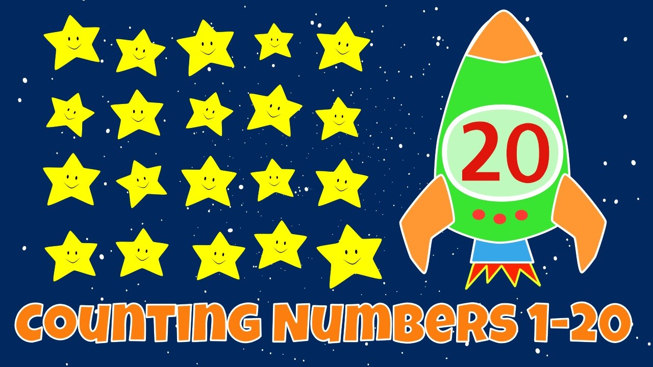 Counting Numbers | Numbers 1-20 Lesson for Children - YouTube