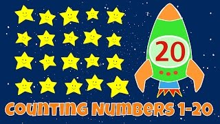 Counting Numbers | Numbers 1 20 Lesson For Children