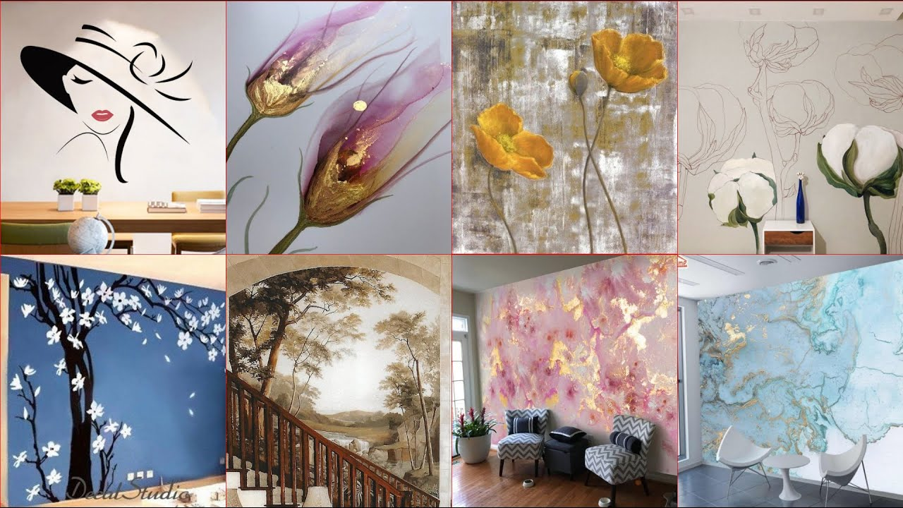 Very Beautiful Amazing Wall Murals Ideas Wall Paintings Ideas 3d Wallpapers Designs For Walls Youtube