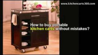 How To Buy Portable Kitchen Carts- Exclusive