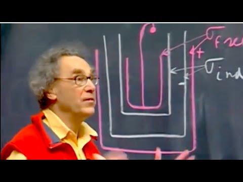 8.02x - Lect 14 - Biot-Savart, div B = 0, High-voltage Power Lines, Leyden Jar revisited