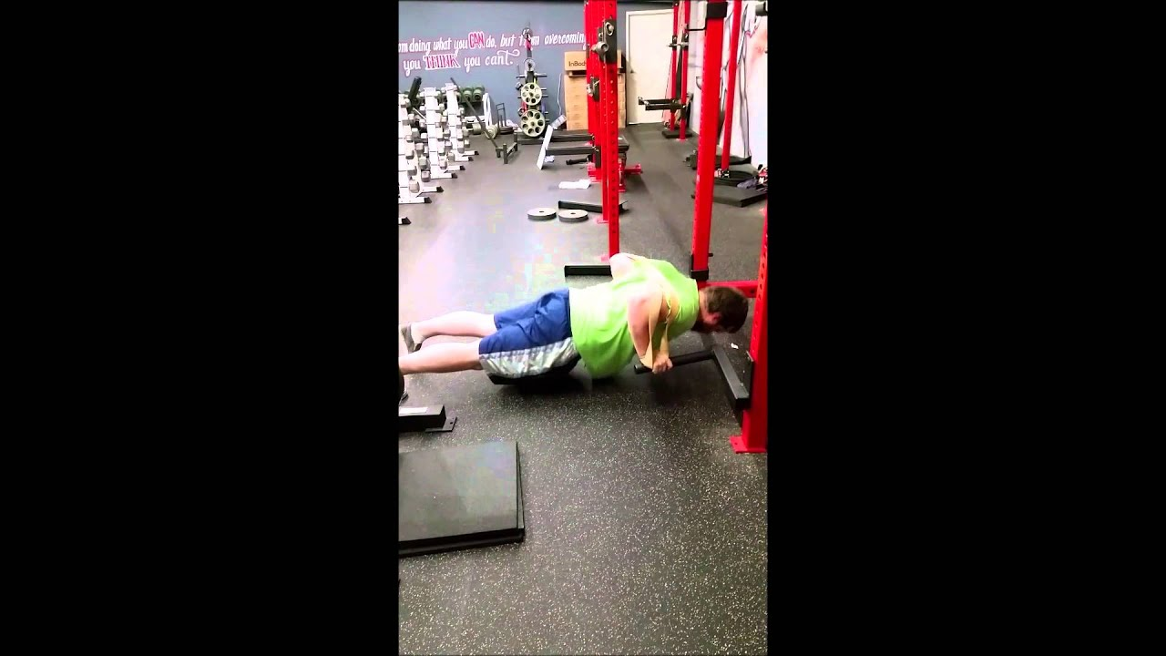 Band-Resisted Pushups = Bench Press for strength gains? Plus