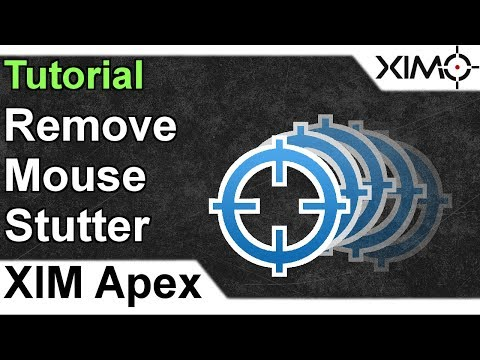 XIM APEX - How To Remove Mouse Stutter Tutorial - YouTube