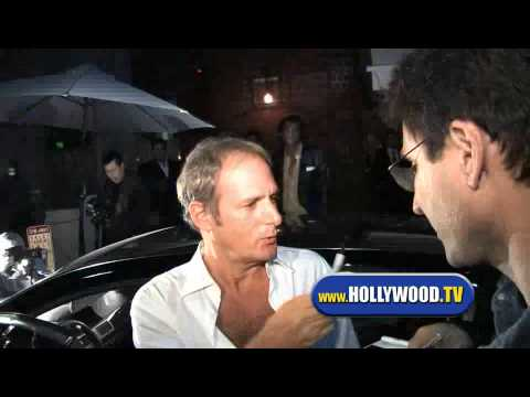 Michael Bolton and Nicollette Sheridan leaving Mr Chow