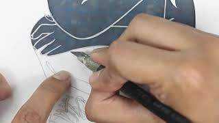 #13 - How to - Papercut - Papercutting - Papercraft - Paper - Art  - Handmade - Parth Kothekar